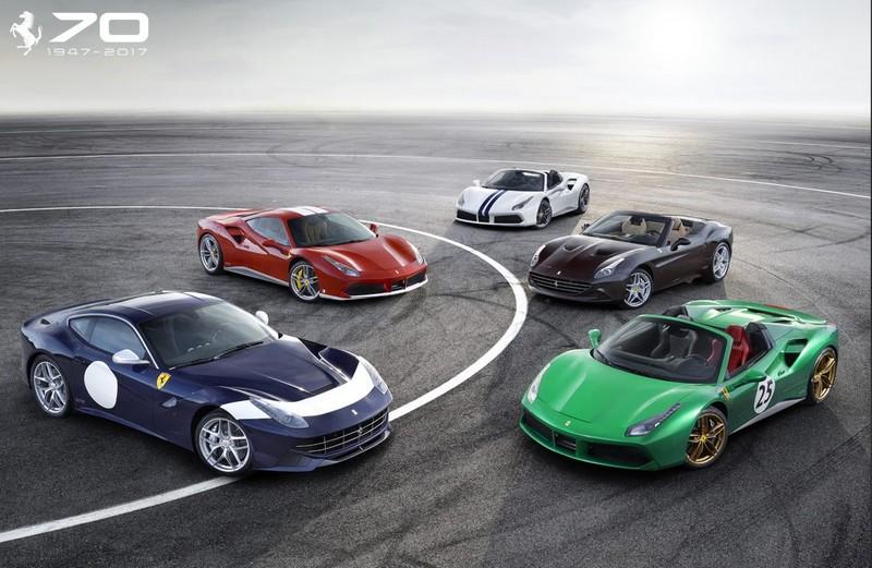 Ferrari anniversary 2017
