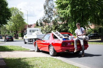 The ultimate builder's workhorse – a Ferrari pick-up truck