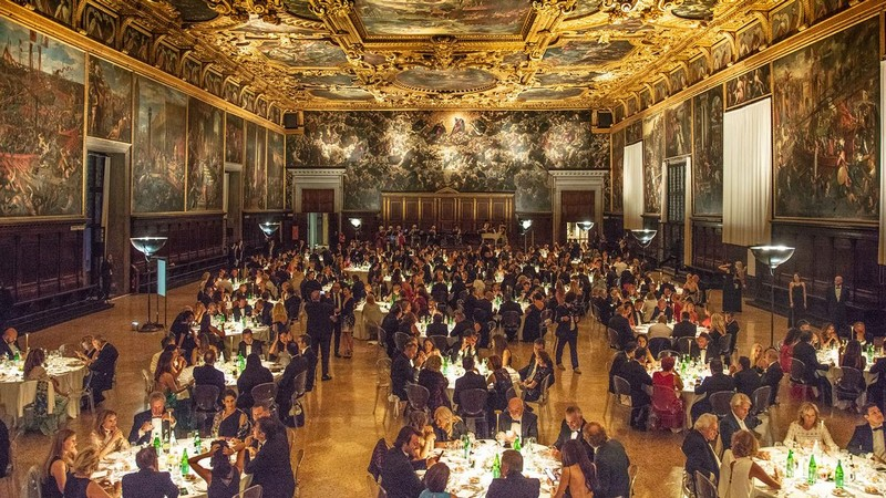 Ferretti Yachts 50th anniversary event in Venice-gala