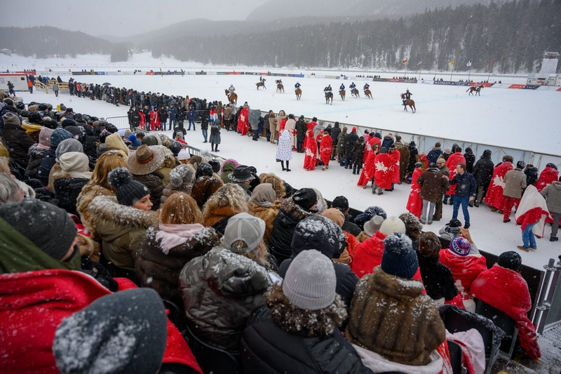 Final day of the Snow Polo World Cup 2019