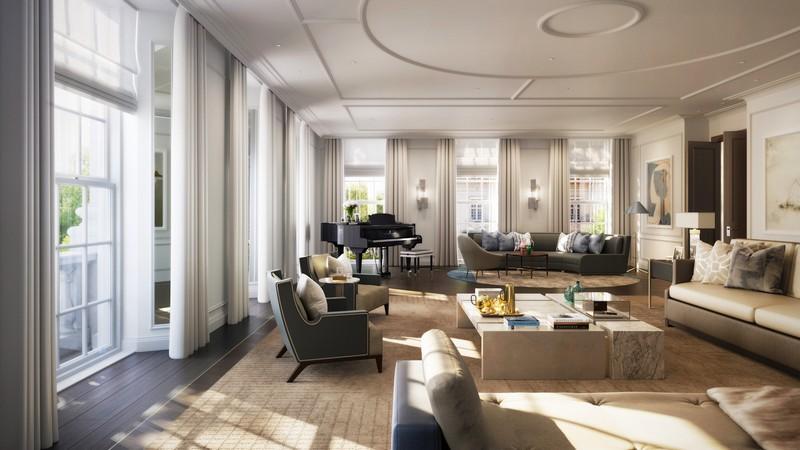 DBOX for Finchatton - 20 Grosvenor Square - Apartment - Receptio