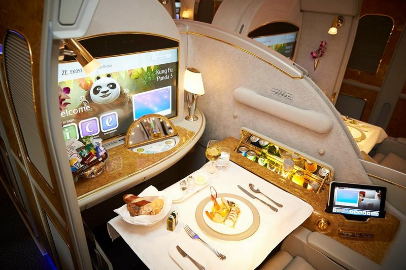 First Class on Emirates