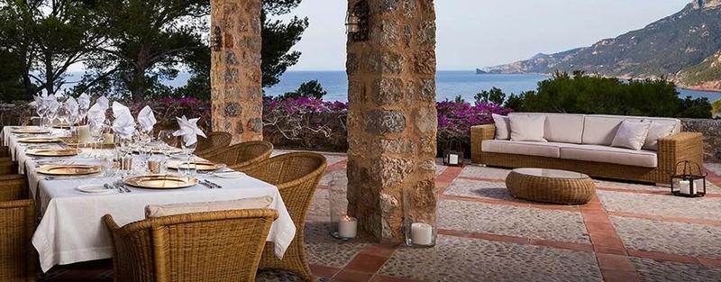 First Look at Richard Branson's new Son Balagueret resort - terrace