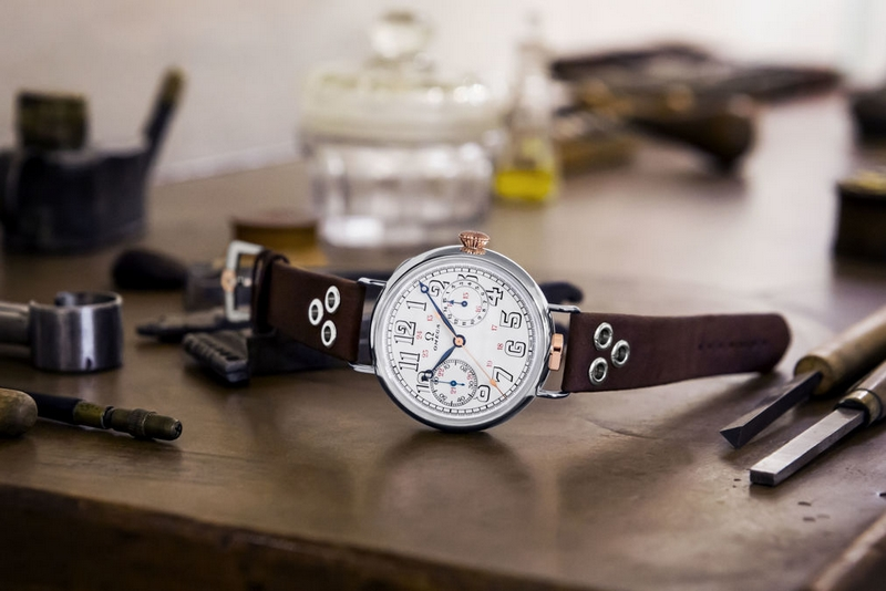 First OMEGA Wrist-Chronograph Limited Edition watch
