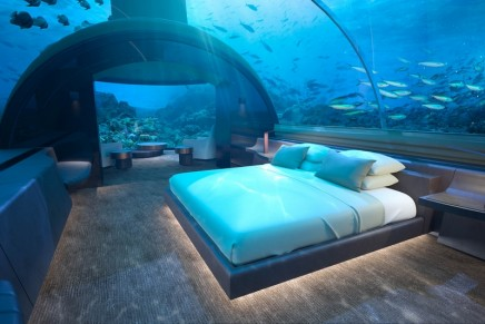Underwater architecture: Unique Sleeping Under the Sea Residence to debut on Conrad Maldives Rangali Island