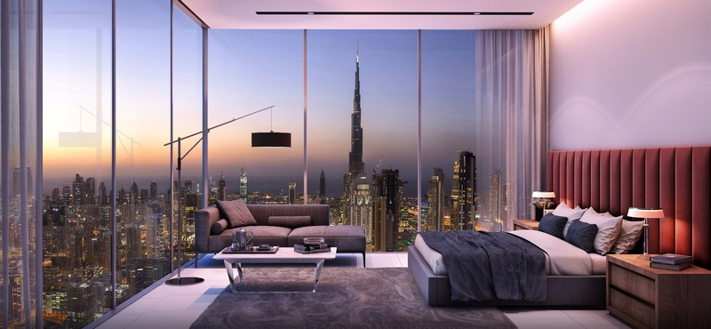 First SLS property in the Middle East, SLS Dubai Hotel & Residences- room wiew