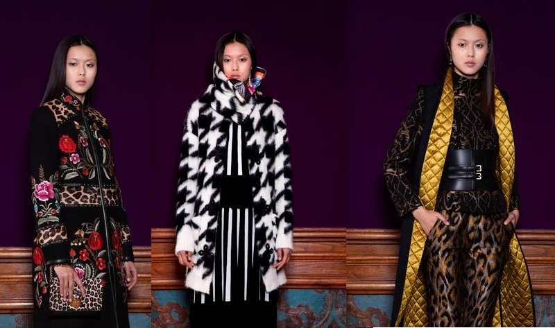 First Shanghai Tang FW 2018 collection-looks