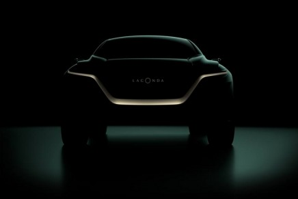First glimpse of Aston Martin's first production model driven by zero emission technologies