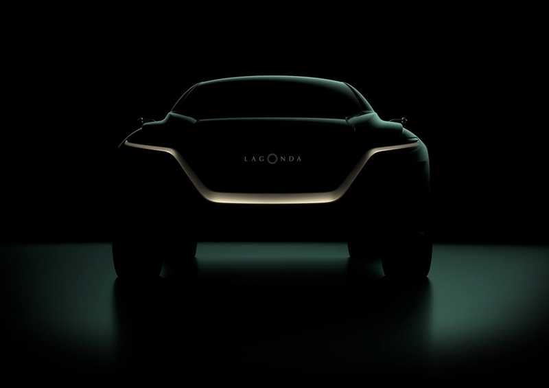 First glimpse of Aston Martin's first production model driven by zero emission powertrain technologies