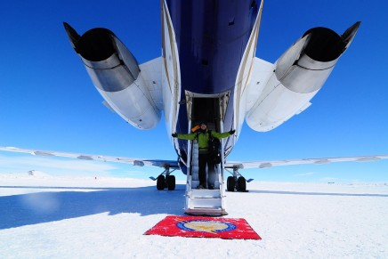 Antarctica's first and only luxury green camp