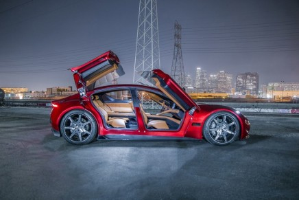 World-renowned automotive industry icon Henrik Fisker unveiled its new dramatic luxury electric design