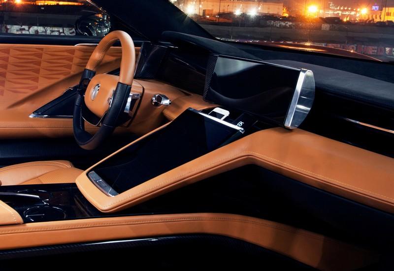Fisker's EMotion Electric Luxury Sedan - interior