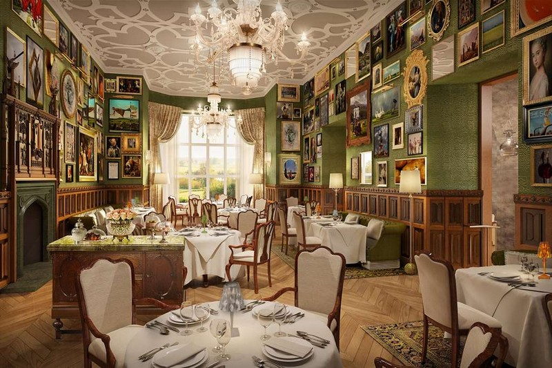 Five-Star Castle Hotel Adare Manor - Dining Room
