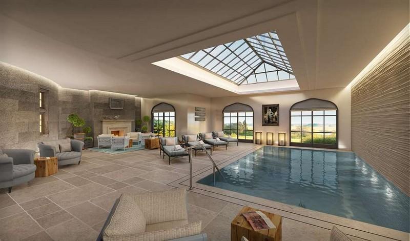 Five-Star Castle Hotel Adare Manor - Spa Swimming Pool