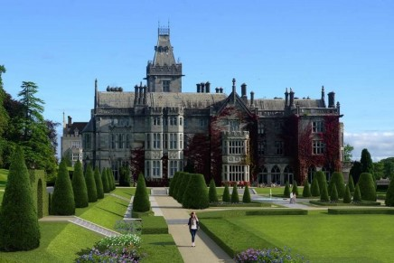Five-Star Castle Hotel Adare Manor Ireland is renovated to incorporate the latest in modern luxury