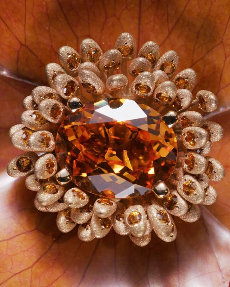 Fleur Éternelle ring