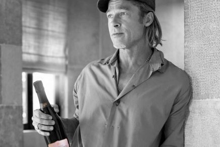 Brad Pitt launches the only Champagne house devoted to Rosé Champagne