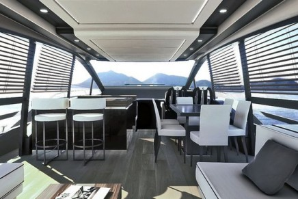 Fly 21 Gullwing – the new flagship of Sessa Marine