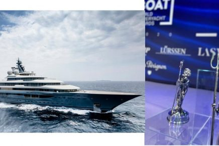 Flying Fox, the world's largest charter superyacht, won the World Superyacht Award 2020