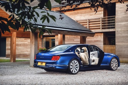 A range of totally exclusive features is found in the Flying Spur First Edition