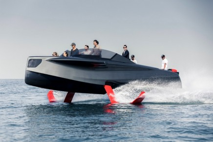 Cannes Yachting Festival 2018: 4 cutting-edge technological gems affected by foil madness