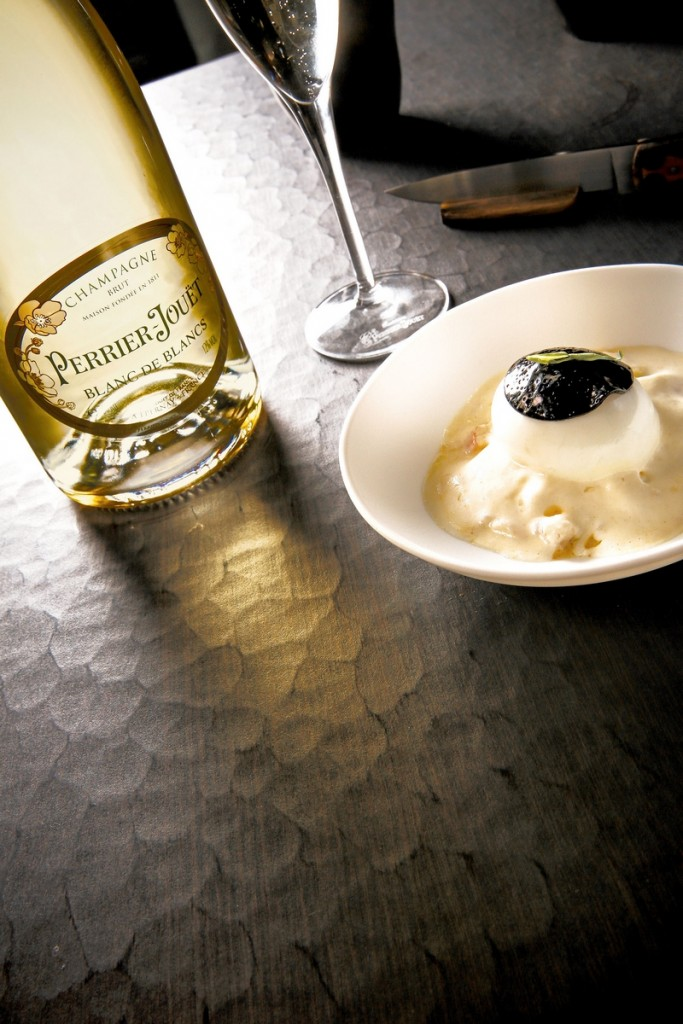 Food Pairing by Chef Akrame - Perrier-Jouët's new cuvée pays tribute to the Chardonnay grape-