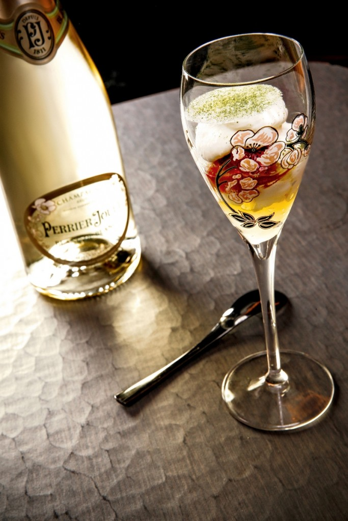 Food Pairing by Chef Akrame - Perrier-Jouët's new cuvée pays tribute to the Chardonnay grape