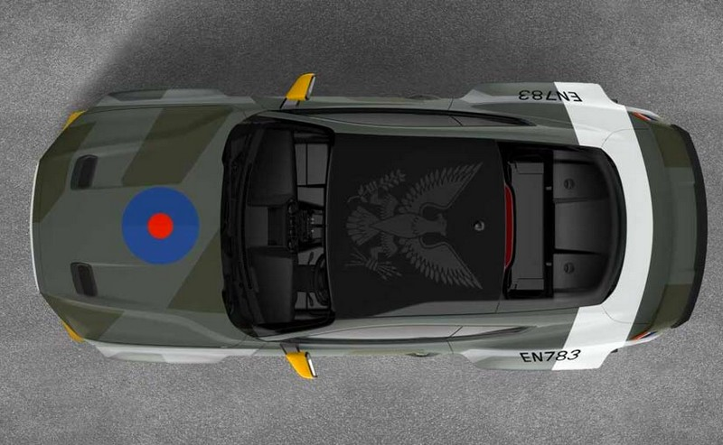 Ford mustang GT - aircraft-inspired 2018 version