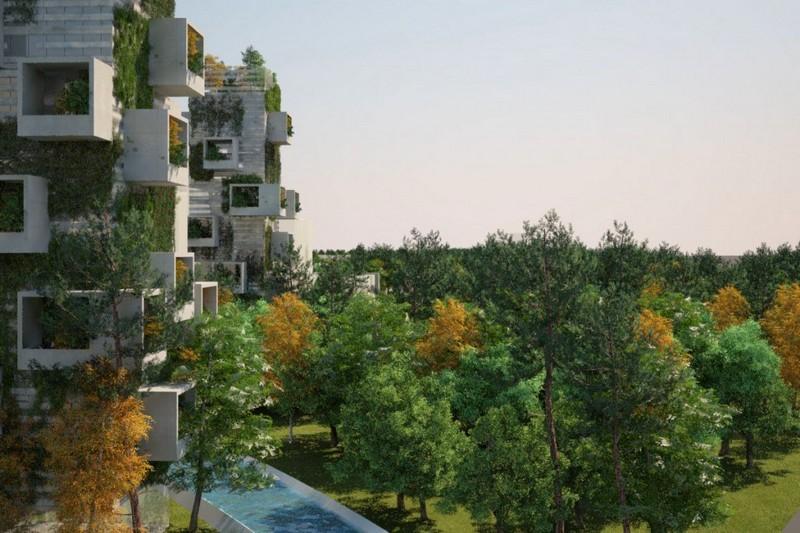 Forest City Designed by Stefano Boeri Architetti