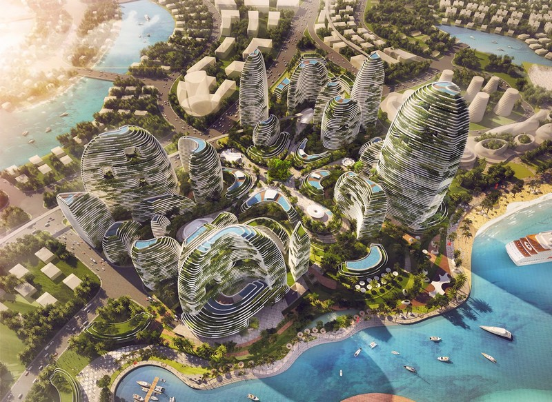 Forest City - a futuristic green city for Malaysia-