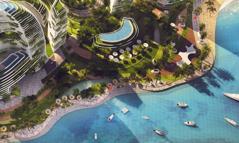 Forest City - a futuristic green city for Malaysia-2017-