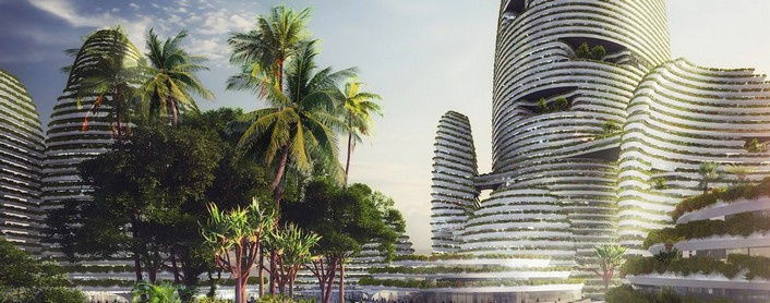 Forest City - a futuristic green city for Malaysia