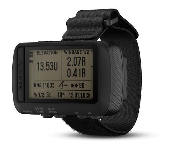 Foretrex 701 Ballistic Edition- Wrist-mounted GPS navigator with Applied Ballistics