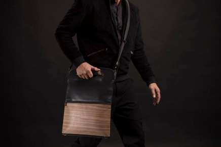 The wood enters in the first Leather & Wood Collection signed by NAPKIN and Pininfarina