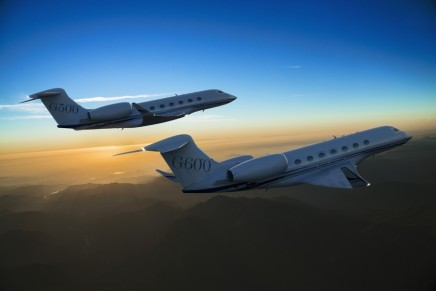 High speed Gulfstream G500 and G600 – two new business jets by Gulfstream Aerospace Corporation
