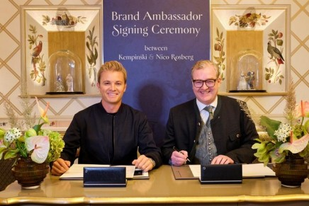 Nico Rosberg is on a mission to win over new fans for the Kempinski Hotels