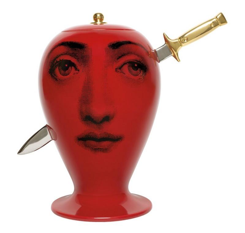 Fornasetti Don Giovanni Infilzato Vase
