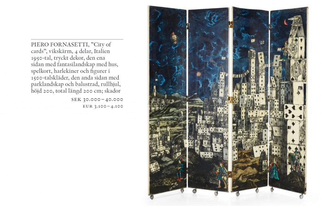 Fornasetti. Inside Out Outside In - City of cards