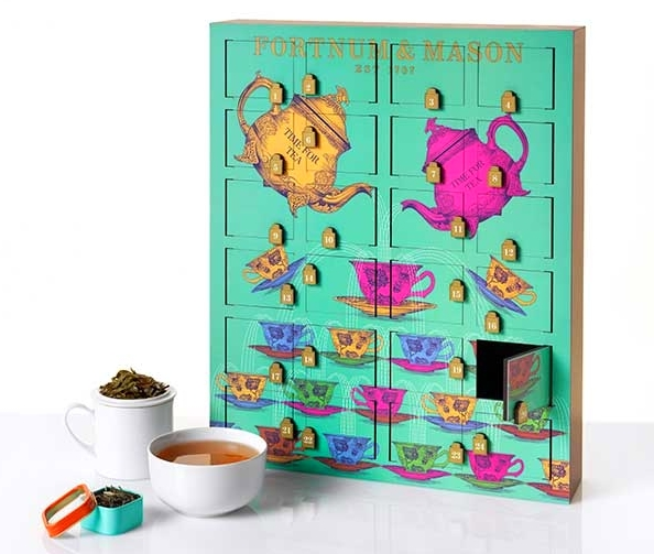 Fortnum & Mason Rare Tea Wooden Advent Calendar