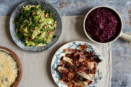 Rachel Roddy's recipes for Christmas side dishes