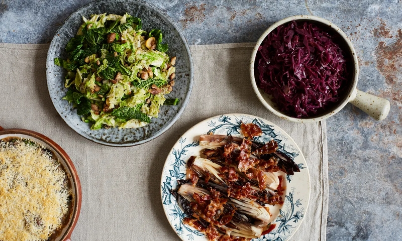 Four Christmas side dishes