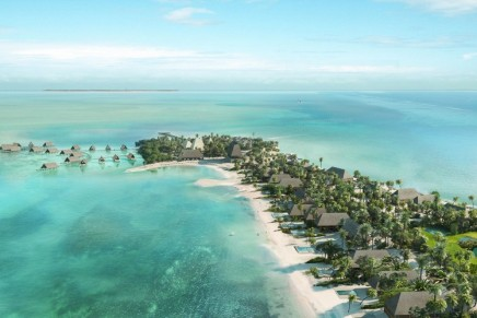 The intimate private island of Caye Chapel is transformed into a luxury destination for residence owners and leisure travellers