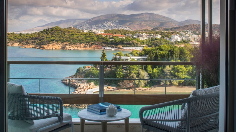 Four Seasons Astir Palace Athens Greece- 2019 - views from the room