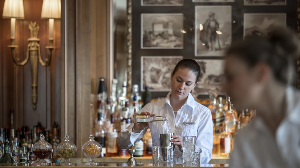 Four Seasons Hotel des Bergues Geneva - bar