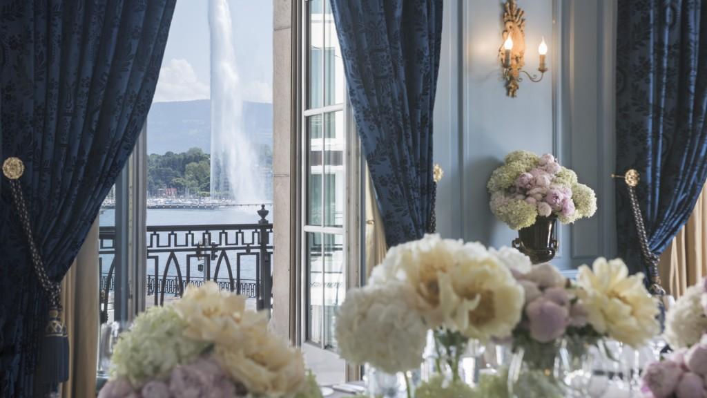 Four Seasons Hotel des Bergues Geneva - view
