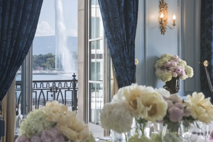 The first hotel built in Geneva celebrates 184th birthday with 1834 Fragrance