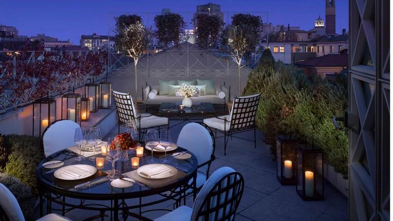 Four Seasons Milano Penthouse Suite