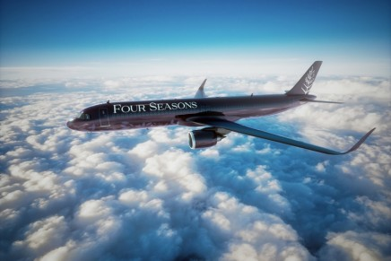 One of the world's leading luxury hospitality brands is introducing custom private jet with guest-centric design
