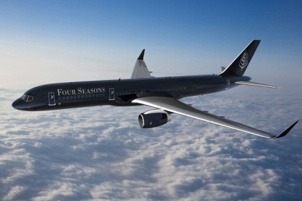 The future of luxury hospitality? Take a look at hotel industry's first fully branded jet