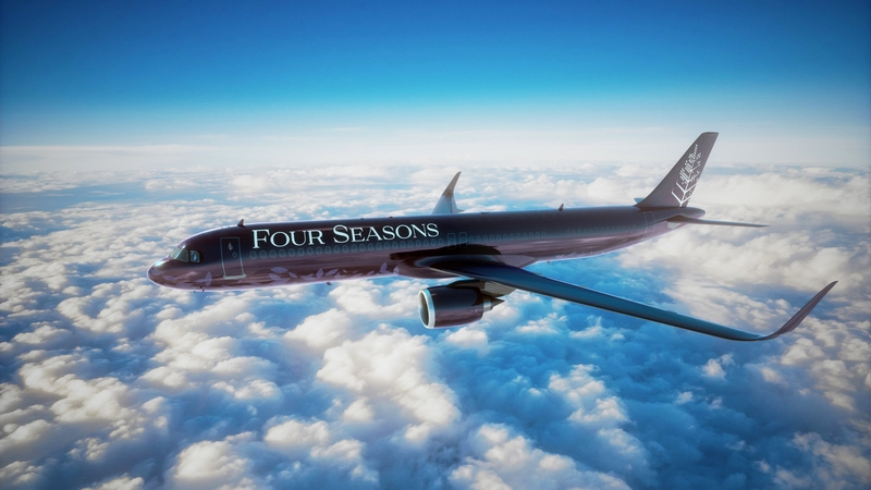 Four Seasons Private Jet itineraries 2021
